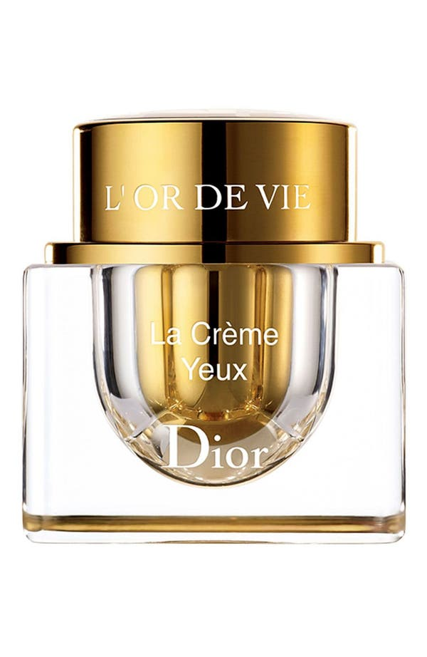 Alternate Image 1 Selected - Dior 'L'Or de Vie' Eye Creme
