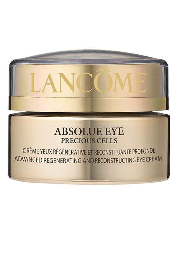 Alternate Image 1 Selected - Lancôme 'Absolue Eye Precious Cells' Advanced Regenerating & Reconstructing Eye Cream