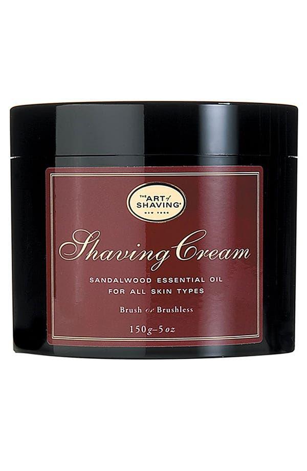 Sandalwood Shaving Cream,                         Main,                         color,