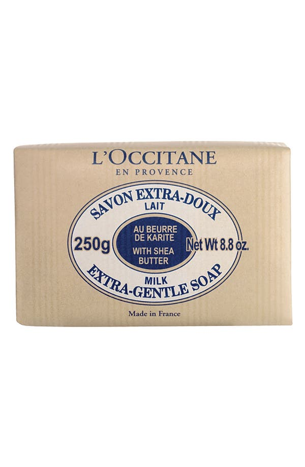 Alternate Image 1 Selected - L'Occitane 'Milk' Shea Butter Extra Gentle Soap