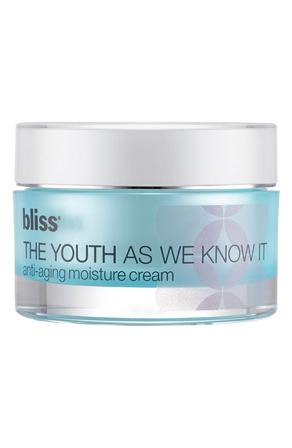 Main Image - bliss® 'The Youth as We Know It' Anti-Aging Moisture Cream