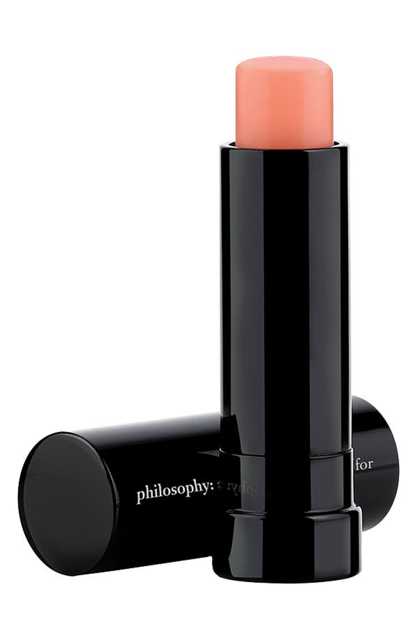 Alternate Image 1 Selected - philosophy 'kiss of hope' lip treatment spf 15
