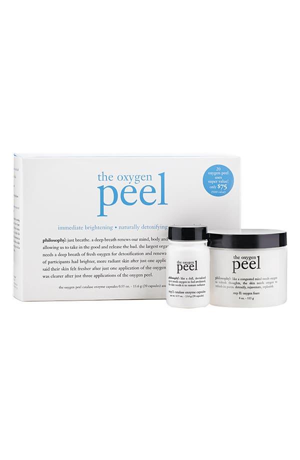 Main Image - philosophy 'the oxygen peel' super size kit ($100 Value)