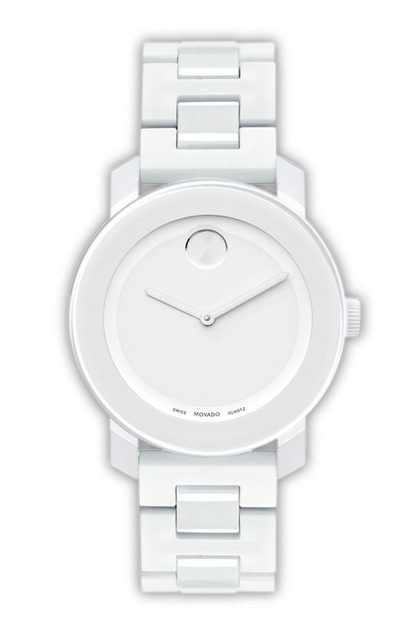 Alternate Image 1 Selected - Movado 'Small Bold' Bracelet Watch