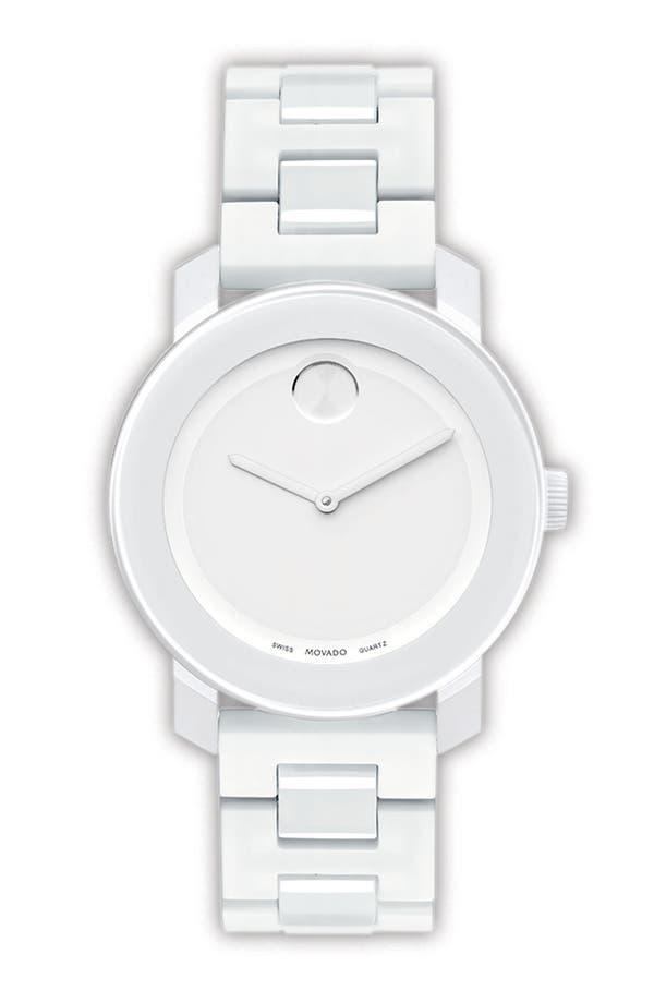 Main Image - Movado 'Small Bold' Bracelet Watch
