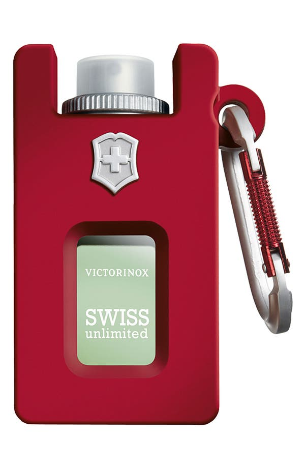 Alternate Image 1 Selected - Victorinox Swiss Army® 'Unlimited' Eau de Toilette Rubber Spray