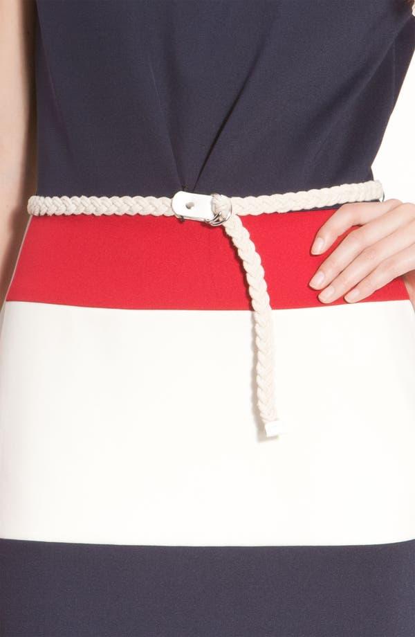 Alternate Image 3  - Maggy London Techno Stretch Colorblock Jersey Sheath Dress