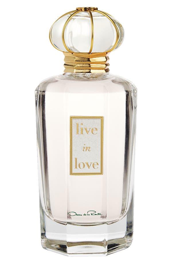 Main Image - Oscar de la Renta 'Live in Love' Eau de Parfum