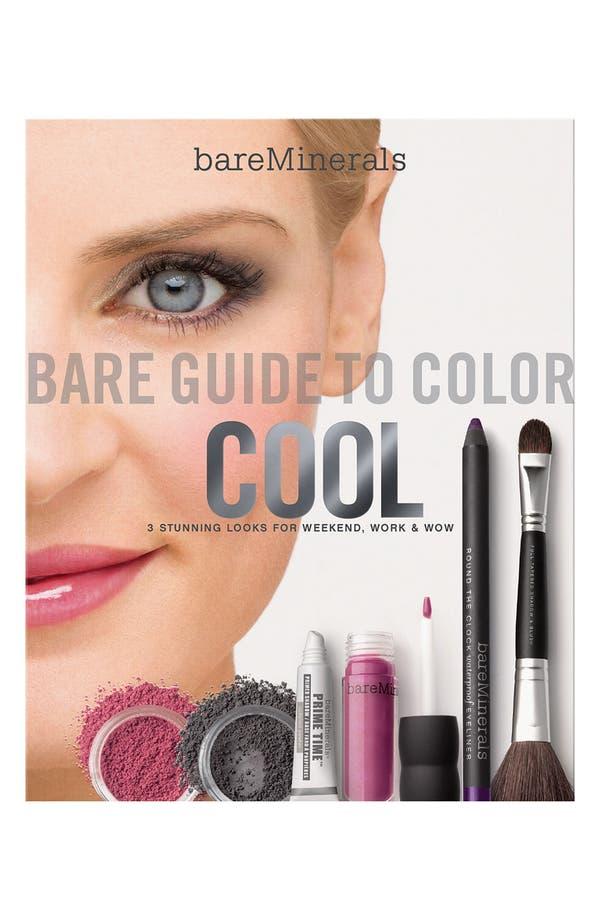Alternate Image 1 Selected - bareMinerals® 'Bare Guide' Cool Color Kit ($94.50 Value)