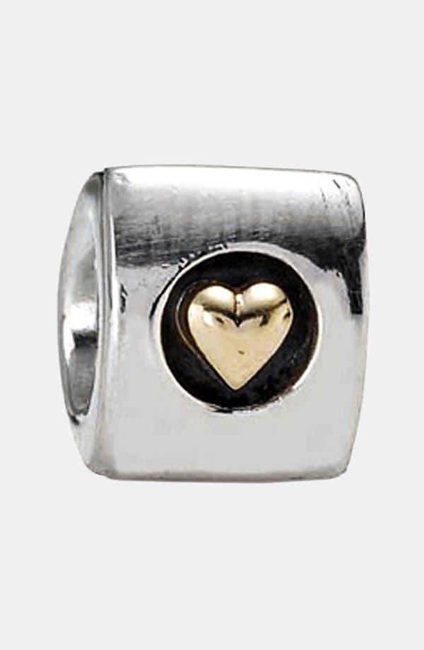 Alternate Image 1 Selected - PANDORA 'Heart of Gold' Charm