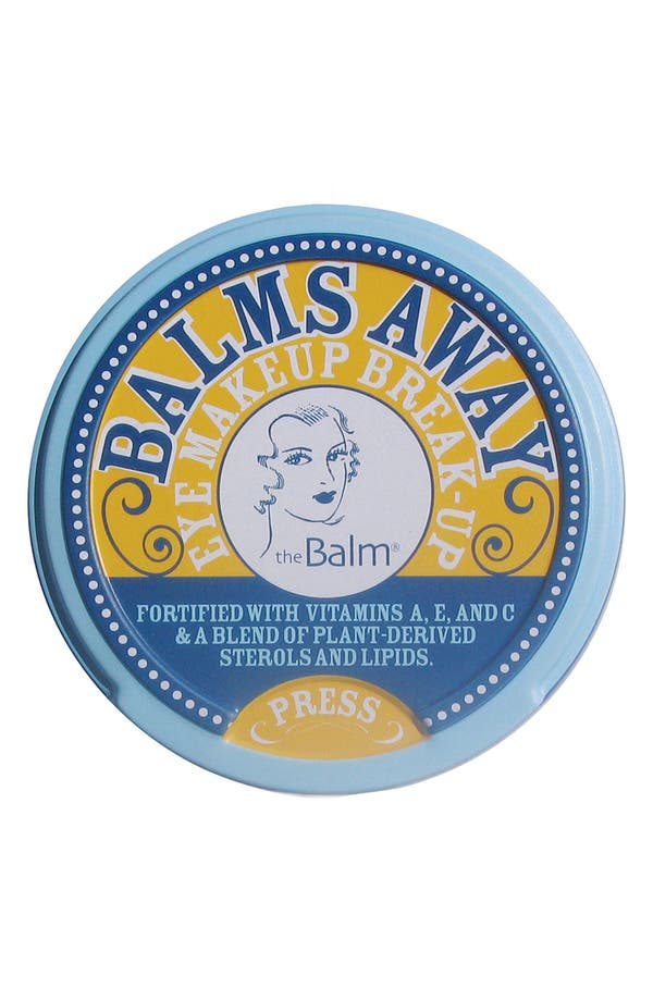 Alternate Image 1 Selected - theBalm 'Balms Away®' Eye Makeup Remover