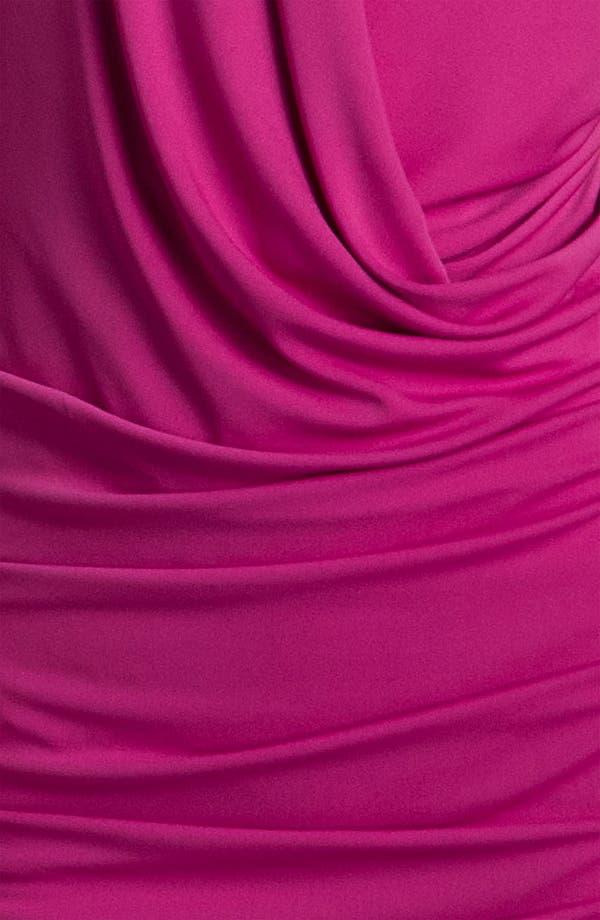 Alternate Image 3  - Nicole Miller Drape Front Jersey Halter Dress