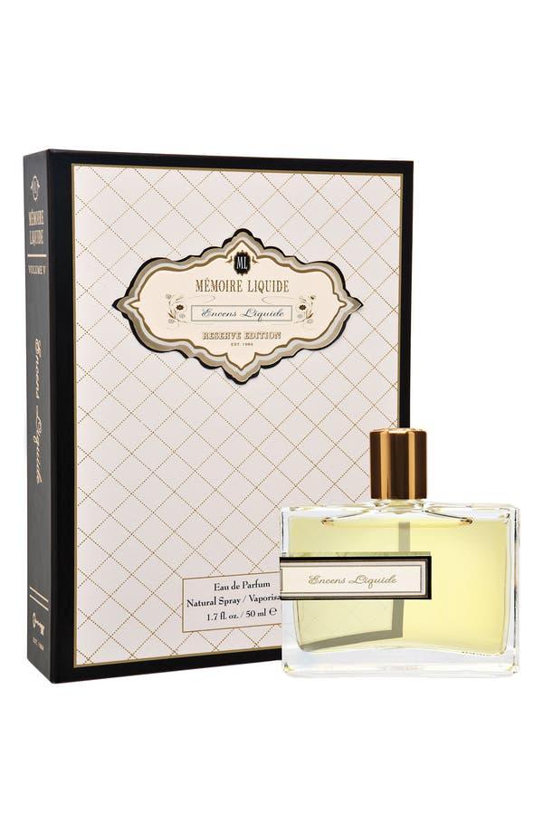 Alternate Image 2  - Mémoire Liquide 'Encens Liquide' Eau de Parfum