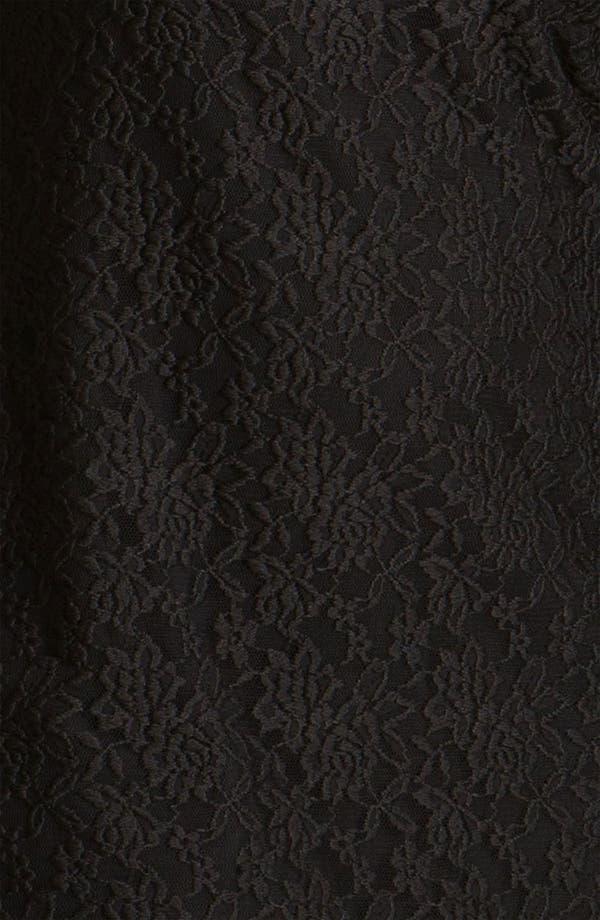 Alternate Image 3  - Adrianna Papell Lace Overlay Sheath Dress (Plus)