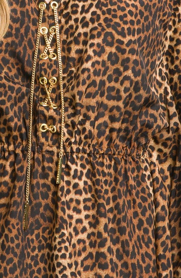 Alternate Image 3  - MICHAEL Michael Kors Chain Lace Flutter Sleeve Tunic