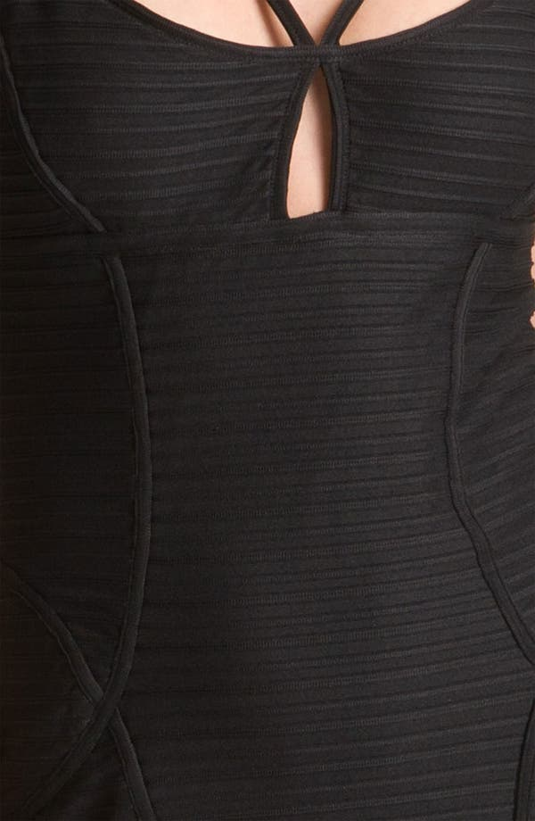 Alternate Image 3  - Jill Stuart Multi Strap Banded Jersey Sheath Dress