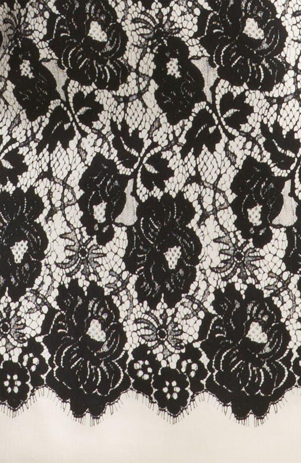 Alternate Image 3  - Milly 'Genevieve' Lace Illusion Dress