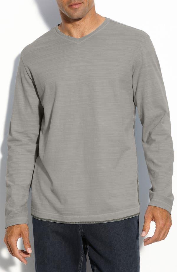 Alternate Image 1 Selected - Tommy Bahama 'New Slub Stantial' V-Neck T-Shirt