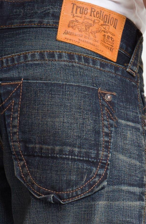Alternate Image 4  - True Religion Brand Jeans 'Bobby' Straight Leg Jeans (Snyper)