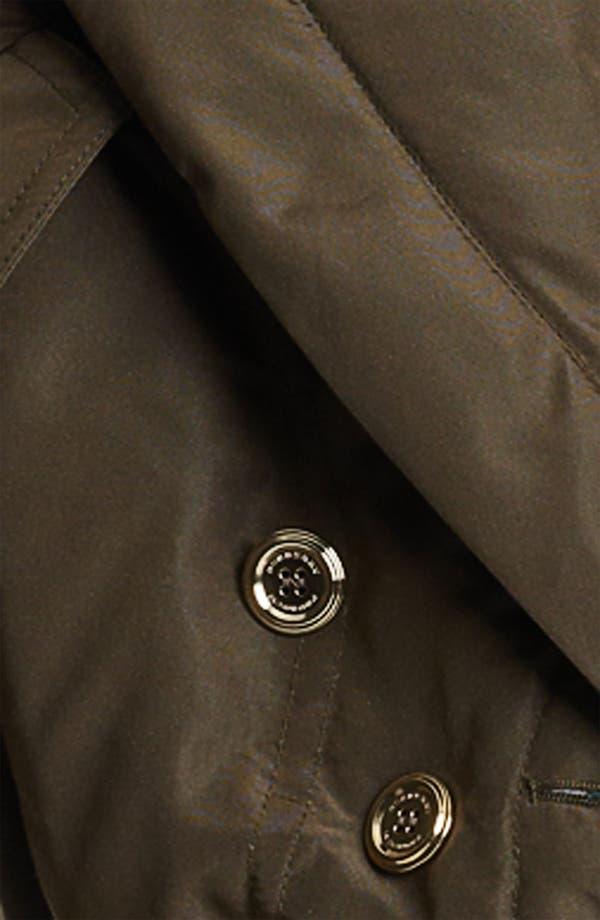 Alternate Image 3  - Burberry Prorsum Mulberry Silk Crop Puffer Jacket