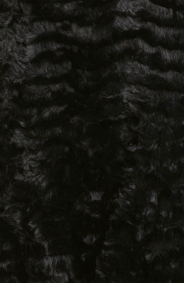 Alternate Image 4  - Gallery Reversible Crushed Faux Fur Vest