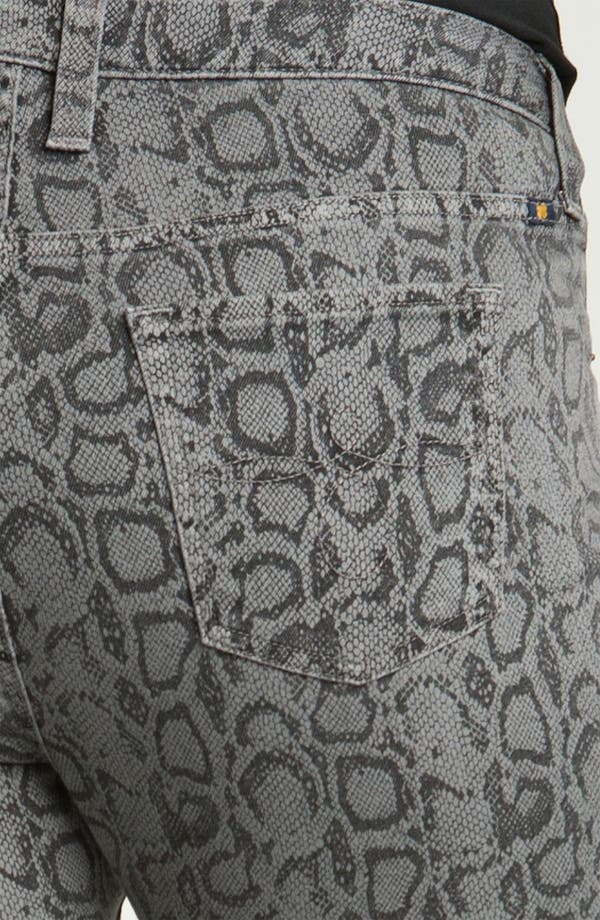 Alternate Image 2  - Lucky Brand 'Ginger' Snake Print Skinny Jeans (Plus)