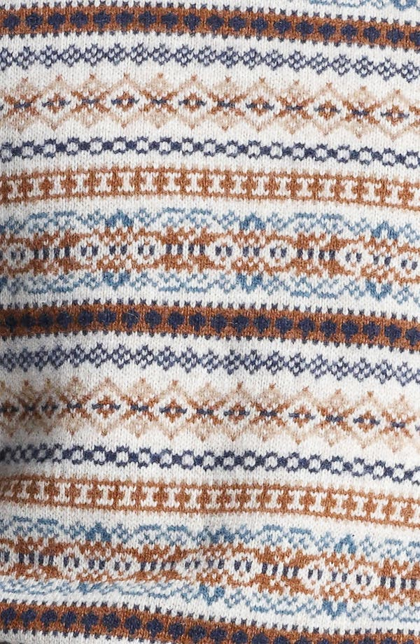 Alternate Image 3  - Topman Fair Isle Crewneck Sweater