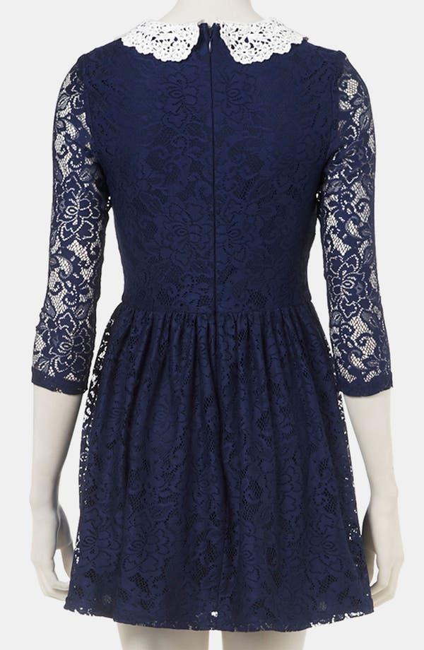 Alternate Image 2  - Topshop Lace Dress