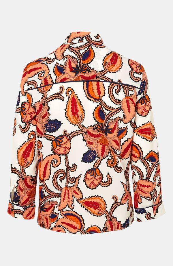 Alternate Image 2  - Topshop Paisley Print Shirt