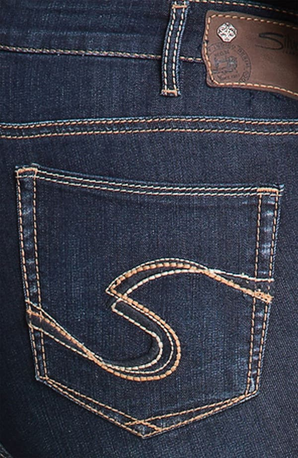 Alternate Image 3  - Silver Jeans Co. 'Suki' Stretch Denim Leggings (Plus)