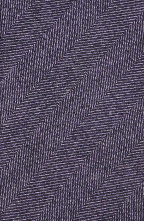 Woven Cotton Tie,                             Alternate thumbnail 2, color,                             Lavender