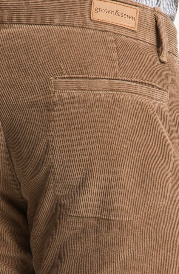 Alternate Image 3  - Grown & Sewn 'Legend' Corduroy Pants