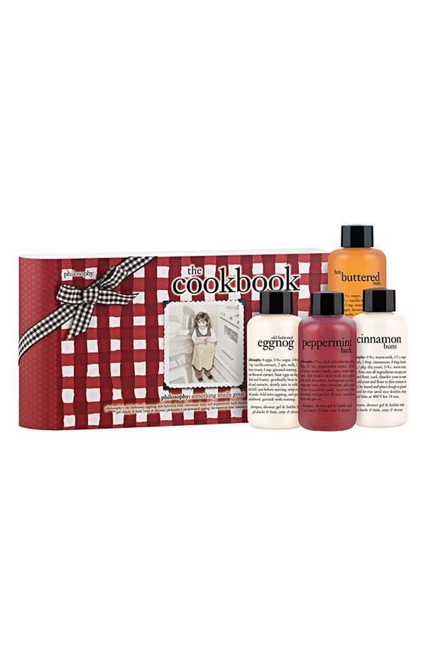 Alternate Image 1 Selected - philosophy 'the cookbook' shampoo, shower gel & bubble bath set