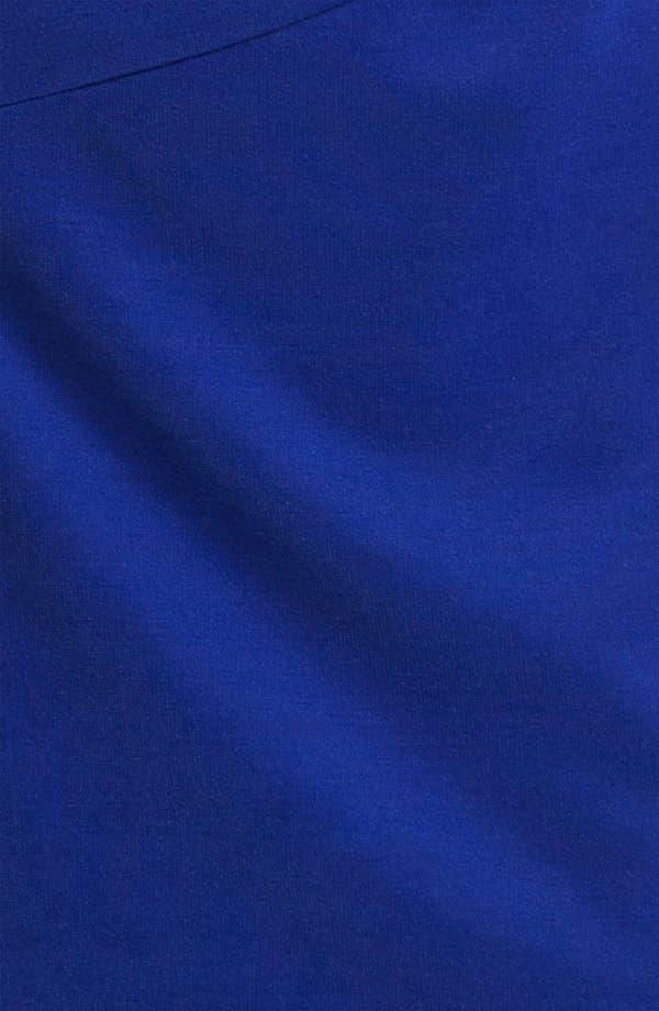 Alternate Image 3  - Donna Morgan Ruched Waist Ponte Sheath Dress