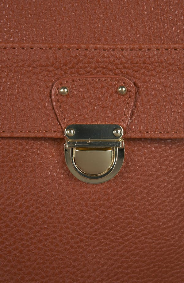 Alternate Image 4  - Topshop Push Lock Satchel