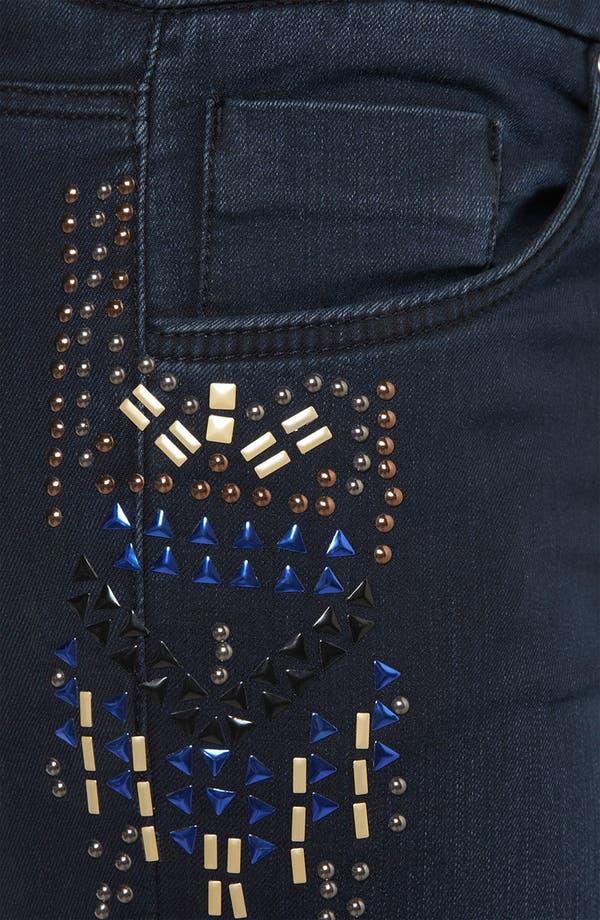 Alternate Image 3  - Topshop 'Aztec' Studded Jeans