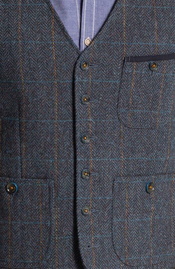 Alternate Image 3  - Ted Baker London 'Rythwai' Wool Waistcoat