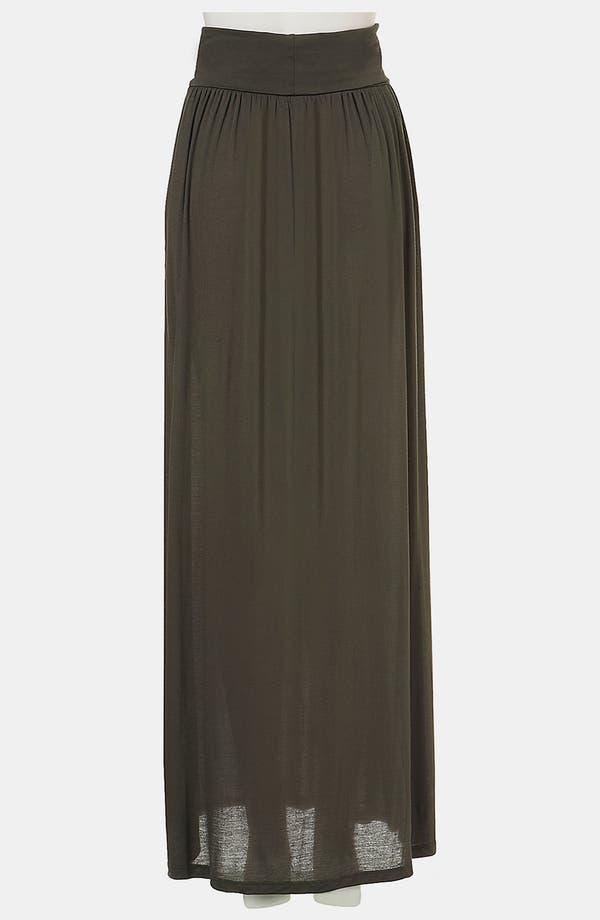 Alternate Image 2  - Topshop Fold Over Maxi Skirt