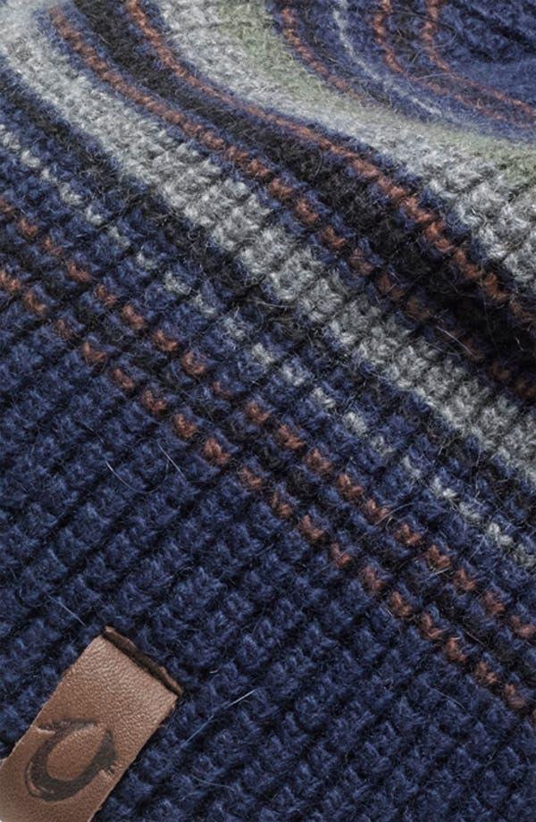 Alternate Image 2  - True Religion Brand Jeans Stripe Waffle Knit Cap