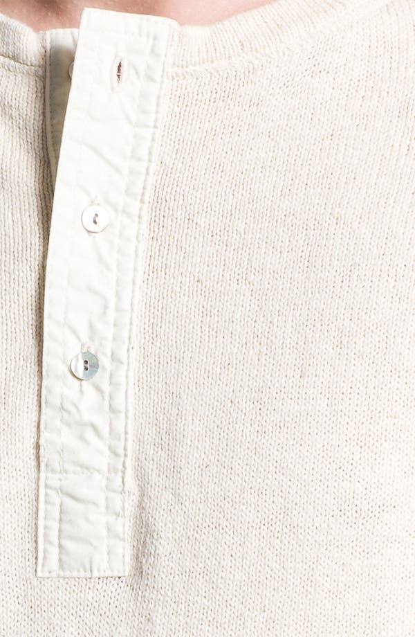 Alternate Image 3  - Gant Rugger Slub Knit Henley