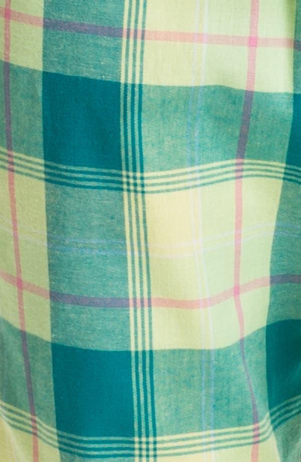 Alternate Image 3  - Nordstrom Henley Flannel Pajamas