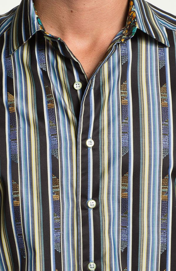 Alternate Image 4  - Robert Graham 'Gamboge' Sport Shirt