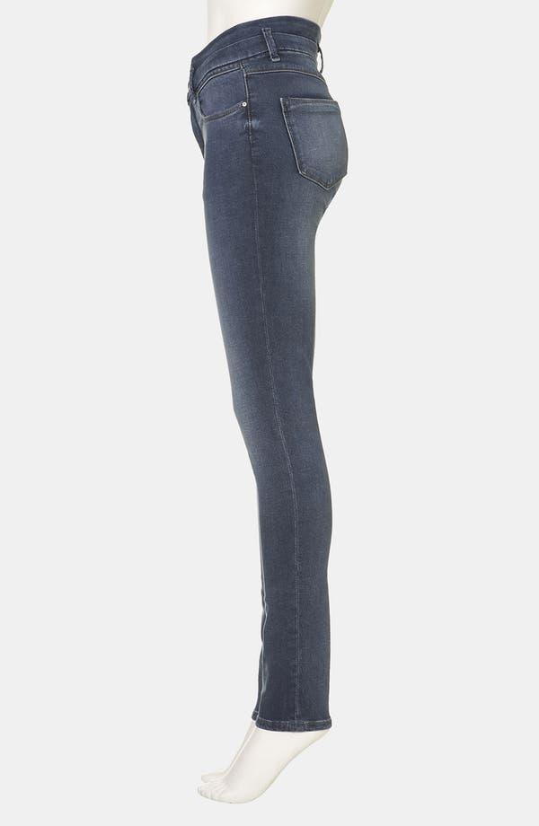 Alternate Image 4  - Topshop Moto 'Kristen' High Waist Skinny Jeans (Midstone)
