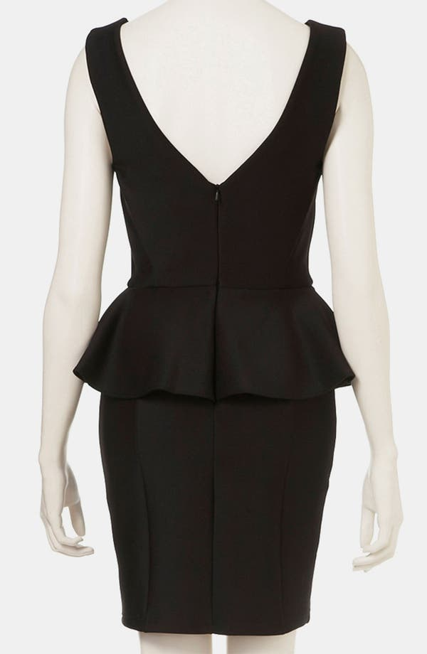 Alternate Image 2  - Topshop Peplum Dress