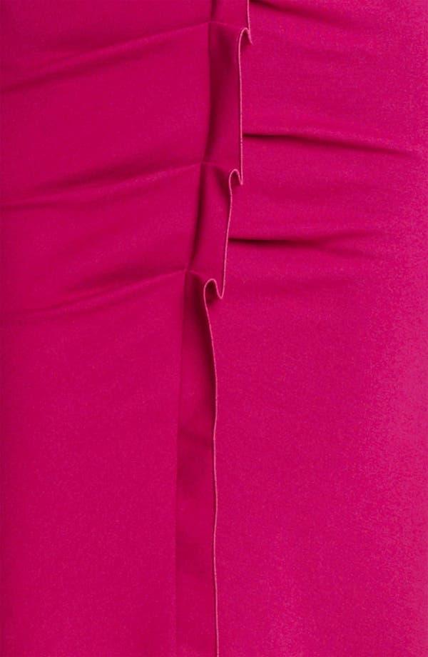 Alternate Image 3  - Armani Collezioni Tuck Detail Jersey Dress