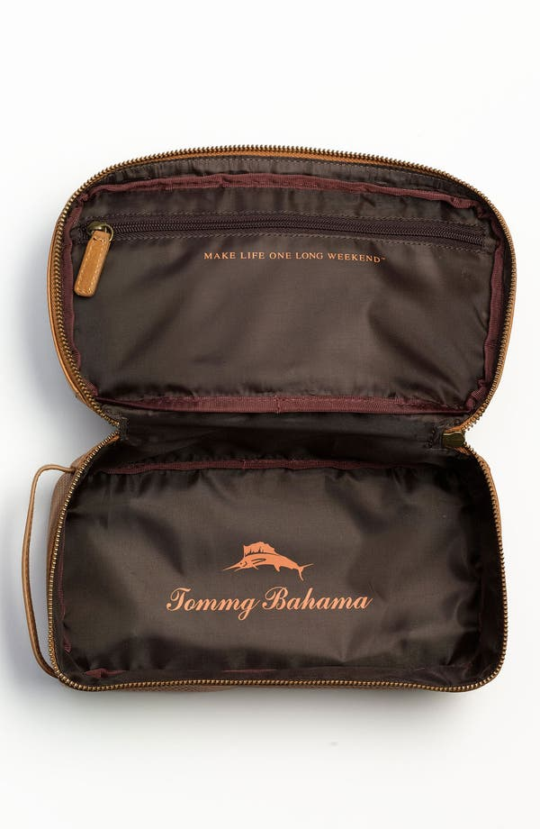 Alternate Image 3  - Tommy Bahama Embossed Travel Kit