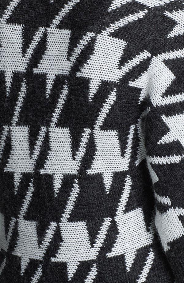 Alternate Image 3  - Amber Sun Houndstooth Sweater Jacket