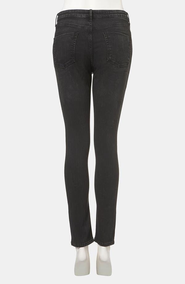 Alternate Image 2  - Topshop Moto 'Jamie' Studded High Waist Skinny Jeans