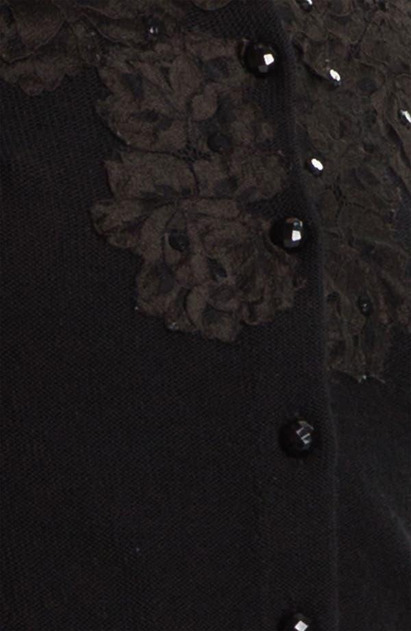 Alternate Image 3  - Tracy Reese Lace Appliqué Crop Cardigan