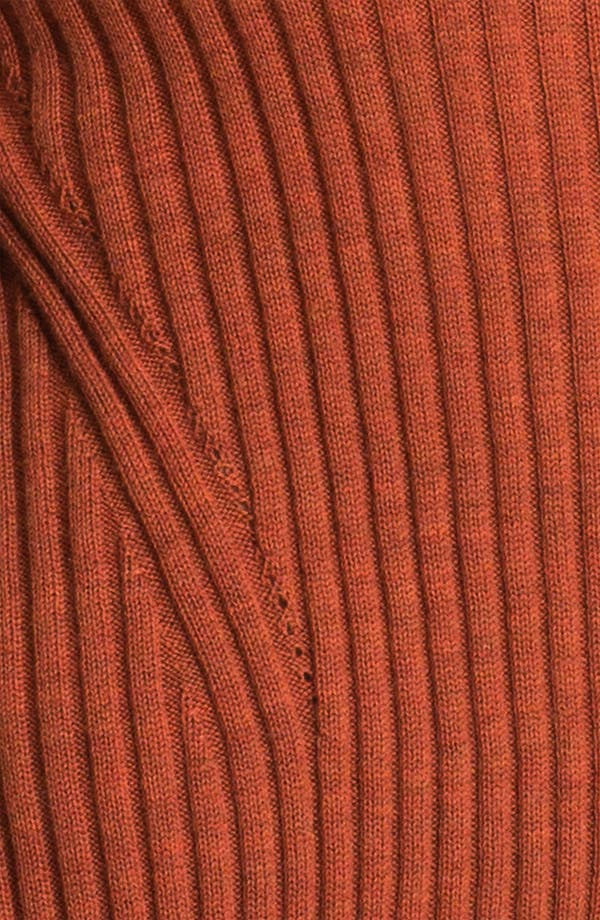 Alternate Image 3  - Eileen Fisher Ribbed V-Neck Tunic Sweater (Online Exclusive)